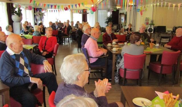 In verpleeghuis Noorderbrink in Alphen aan den Rijn werd vandaag het tienjarig bestaan van het Ontmoetingscentrum Dementie gevierd.