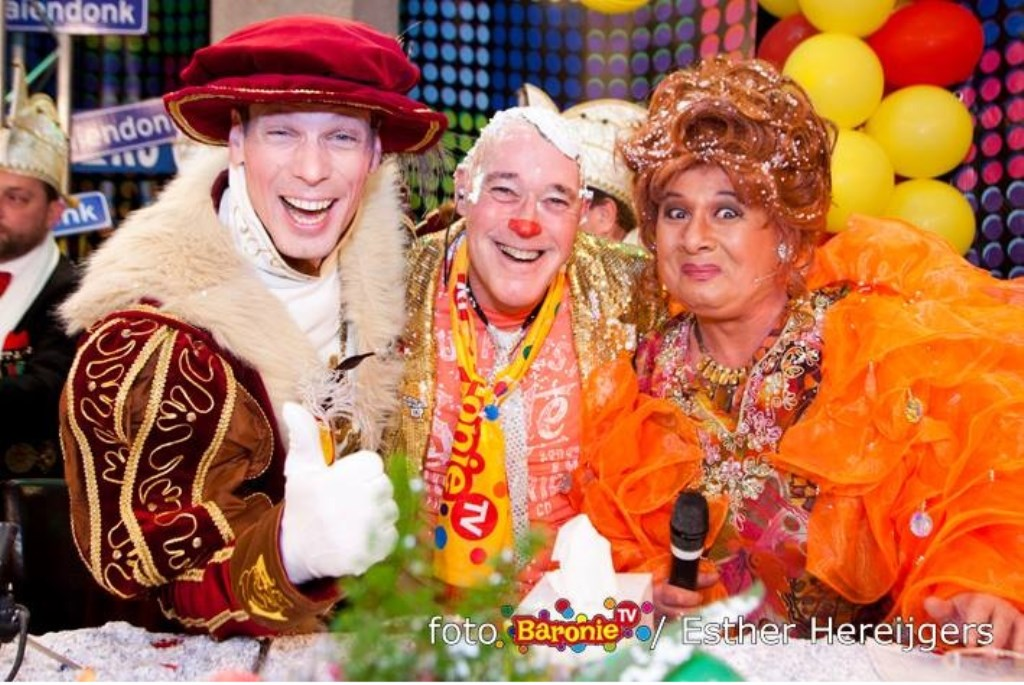 Dit jaar ontvangt Ad Romijn de prinsen op zondag samen met Esther Hofman Foto: Esther Hereijgers © Persgroep