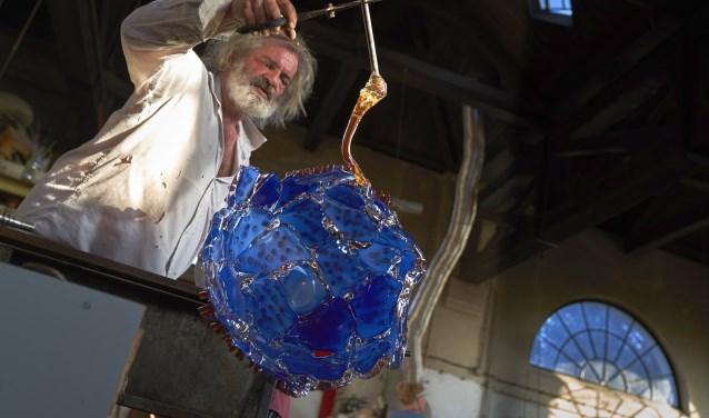 Bernard Heesen aan het werk in De Oude Horn. Foto: Ben Deiman