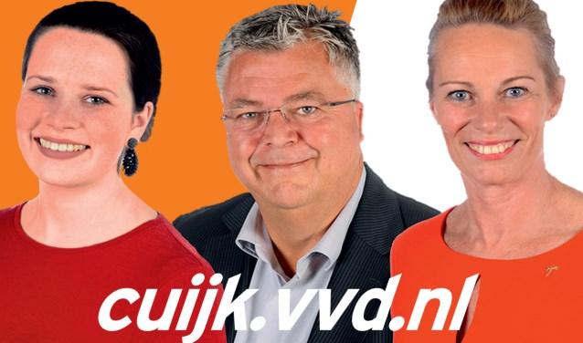 V.l.n.r. Maartje Roelofs, Rob Gertsen en Willemieke. (foto: persfoto)