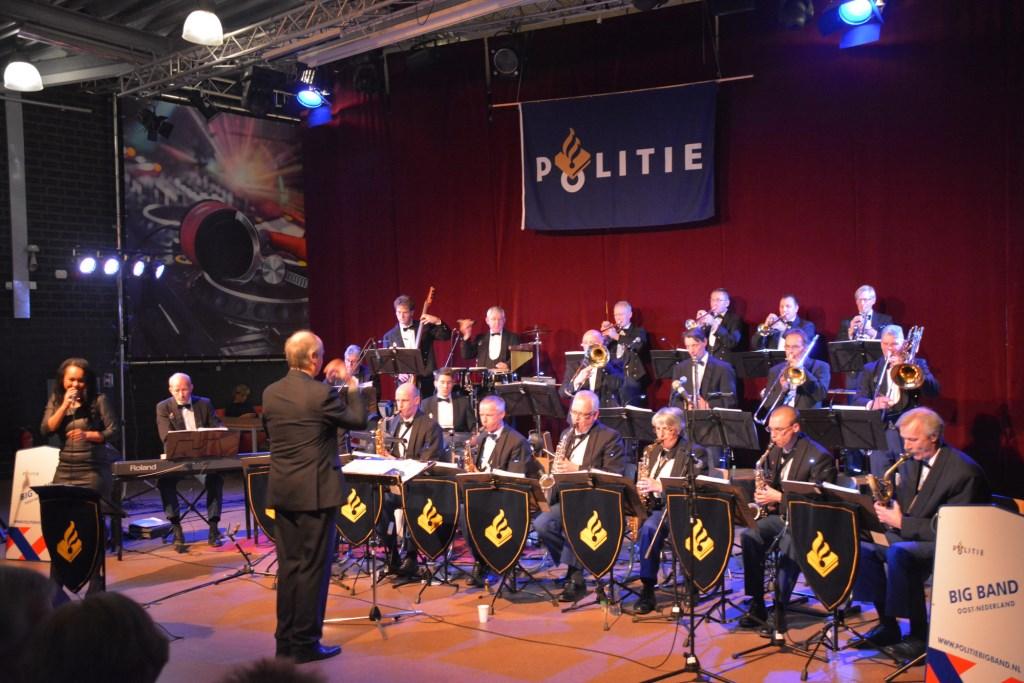 Concert Politie BigBand Oost-Nederland.