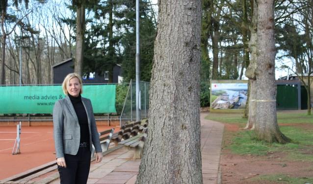 Simone is al jarenlang actief bij Shot. Zij is actief op en buiten de baan. FOTO: Lydia van der Meer