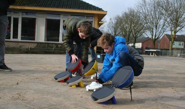 De DaVinci School volgde een gastles van Solly Systems en Energie van Hollandsche bodem. (foto: PR)