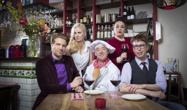 Ooit een tv-serie, nu een toneelstuk: In de Vlaamsche Pot. Zondag in de Bond te zien.