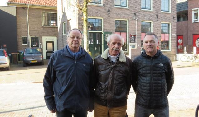 De voorzitters Jan Roodzant (HVOB), Willem Bos (DRB) en Rob van Wonderen (OVB) tekenden  een brief waarin ze samen stelling nemen tegen een snelle fietsroute dwars door Bennekom.