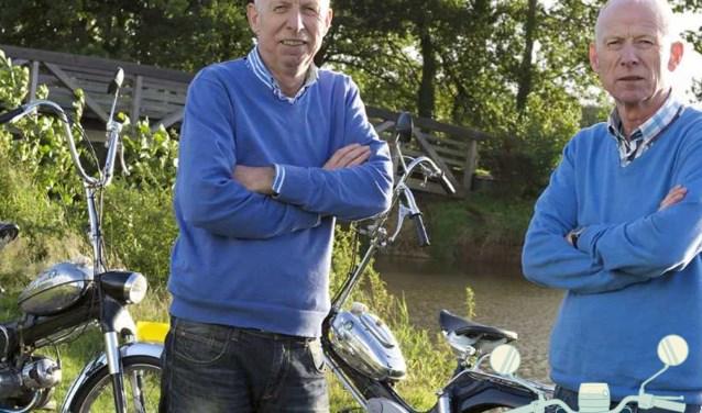 De organisatie van Brommers Kieken is in handen van de broers Bertus en Wim van de Merwe.
