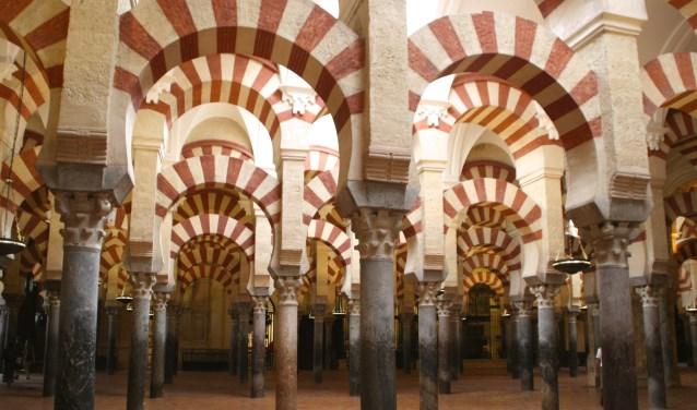 Sjoerd Kuipers verzorgt een cultuurhistorische verkenning van de Moorse kunst en architectuur in de Spaanse regio Andalusië. Foto: Sjoerd Kuipers