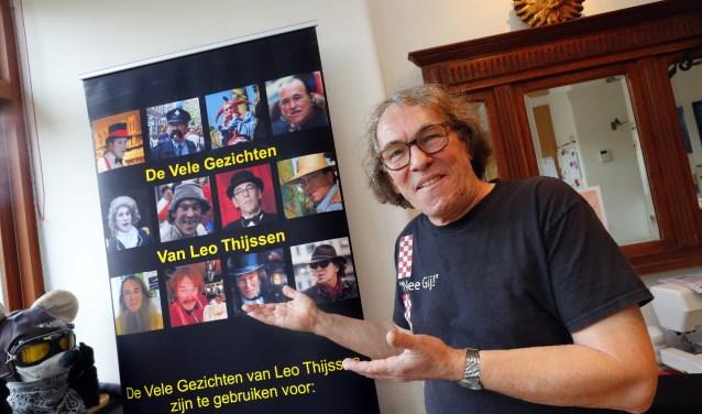 De Vele Gezichten van Leo Thijssen. (Foto: Bert Jansen)