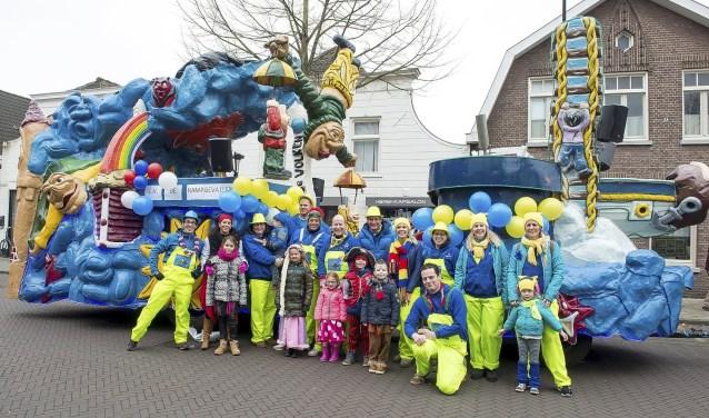 Carnavalsoptocht in Schoenlapperslaand.