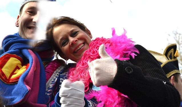 Sylvia is de eerste prinses van Stichting GZK Boemelburcht