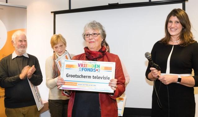 De hartenwens van Fieke van der Lelie uit Didam gaat in vervulling dankzij de Vriendenloterij. (foto: PR)