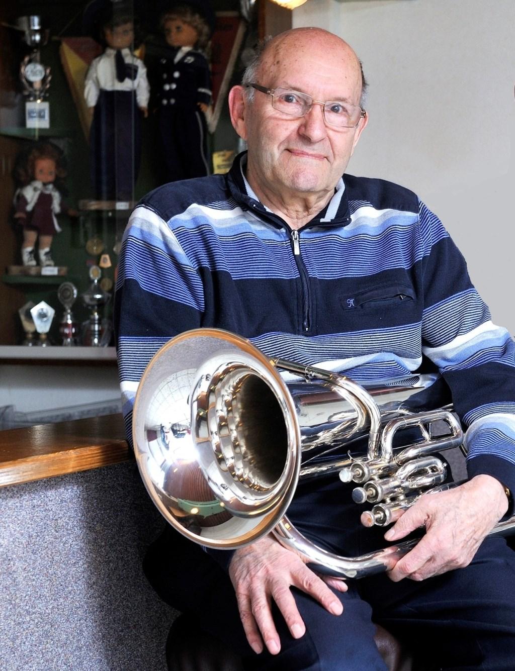 Ab Walet, 70 jaar lid. (Foto: H. Kas)