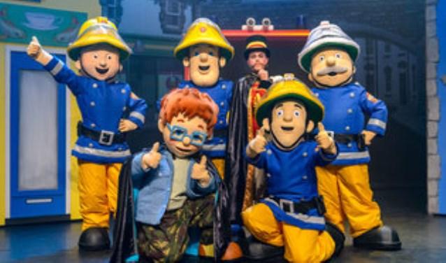 Brandweerman Sam kom naar Utrecht en neemt zijn vrienden mee.