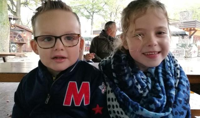 Fenne en Rowan zijn de jarigen van de week.