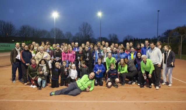 Van 10 tot en met 18 maart houden de tennisverenigingen van Utrecht en Leidsche Rijn de grootste gemeentelijke tenniskampioenschappen van Nederland. Foto: Sport Utrecht