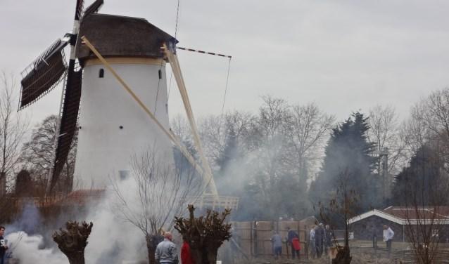 Vanaf komend weekend is de molen elke zaterdag te bezoeken tussen 11 en 16 uur. (Foto: Paul Sporken)