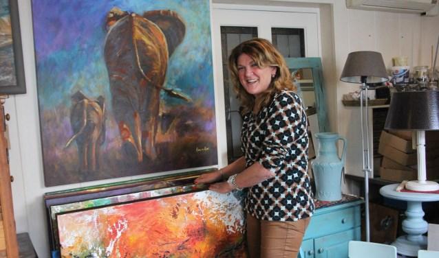 Ans van Aar organiseert samen met drie kunstenaars een kunstmarkt in Berlicum. Naar kunstvormen en uitingen wordt nog gezocht.