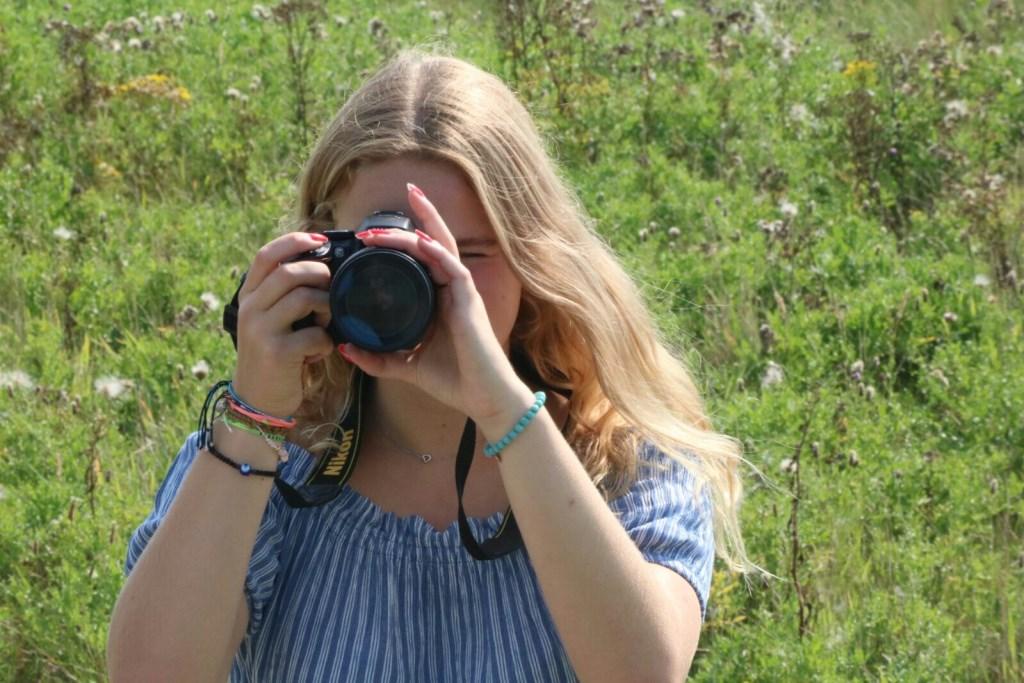 Kia Vereijken is één van de vier amateurfotografen van het project Goeikes.