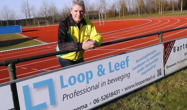 """Mr. Veldhoven - Lau Liefting - 10 Miles. 'Vanaf 2013 organiseren we de 10 Miles eind augustus. Dat gaat nu dus veranderen!"""" FOTO: Bert Jansen."""