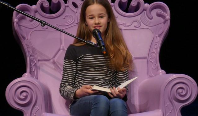 Veerle van der Burg wist de jury te overtuigen met haar verhaal.