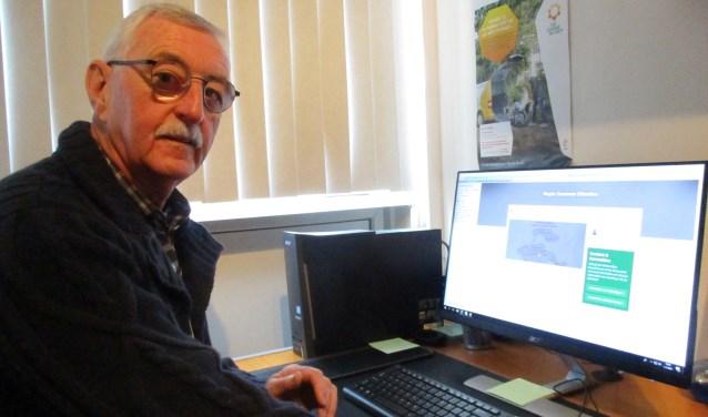 voorzitter Ton van Ombergen van Nationale Vereniging de Zonnebloem, regio Zeeuwse Eilanden zet zich vol passie in voor De Zonnebloem.