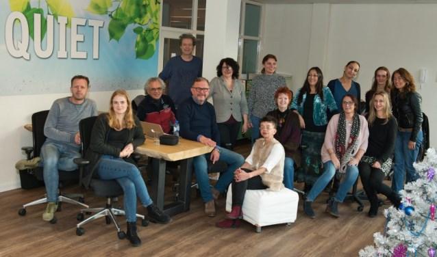 Het team van Quiet Tilburg helpt ook Quiet Community's in andere steden op weg. Inmiddels zijn er al zeven communities in Nederland.