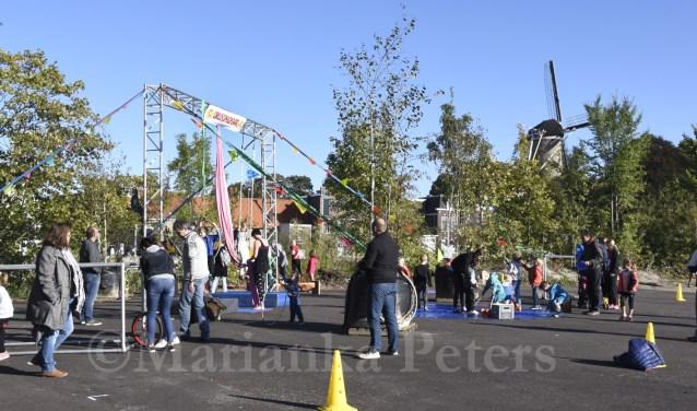 Circusspeelplaats op GOUDasfalt. Foto: Marianka Peters