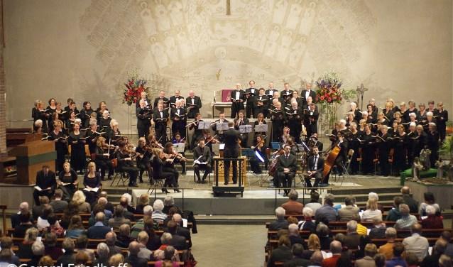 het koor een paar jaar geleden