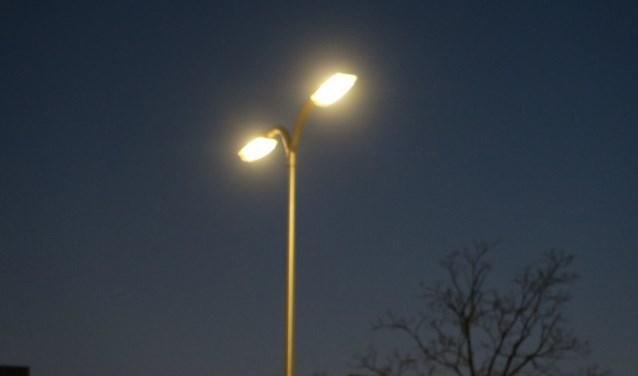 Alle lichten in de gemeente worden dimbare ledlampen. (foto GvS)