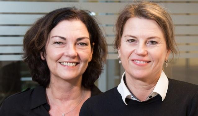 Gerda Koppelaar en Marjolein de Gruijter staan aan het roer. (Foto: Privé)