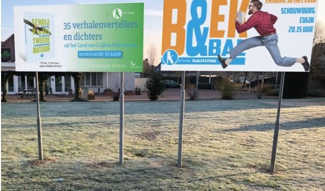 Op vrijdag 16 maart valt er alleen maar te kiezen voor Boek&Bal in Schouwburg Cuijk. (foto: organisatie)