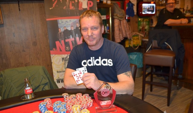 Vorig jaar won Patrick Boeters uit Bergen op Zoom de voorronde van 't Open NK Poker in Bergen op Zoom.