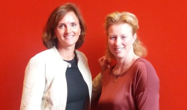 Anneke Meerkerk en Jeannine van Zante. Foto: Rivas