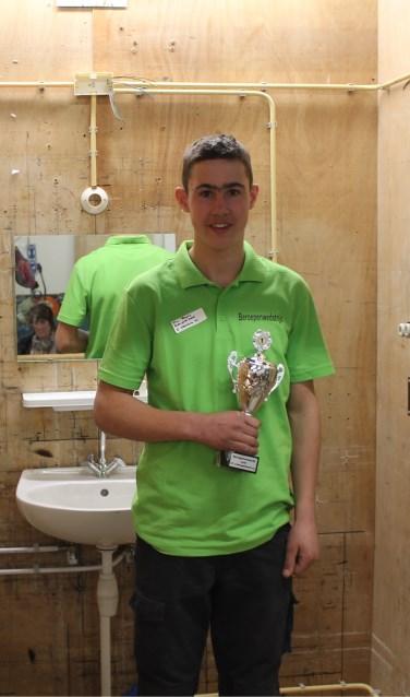 Pim van Beers, winnaar categorie installatietechniek