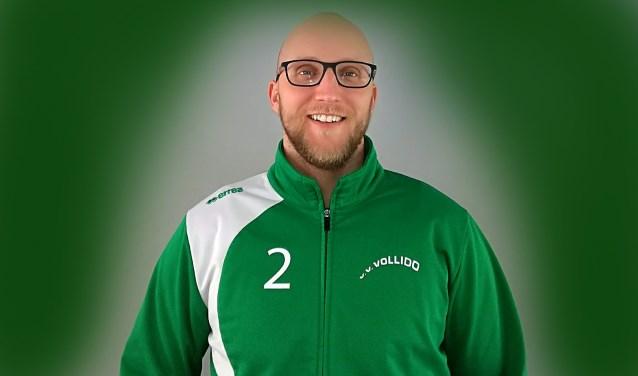 Henk Akkerman, speler en trainer bij Vollido.