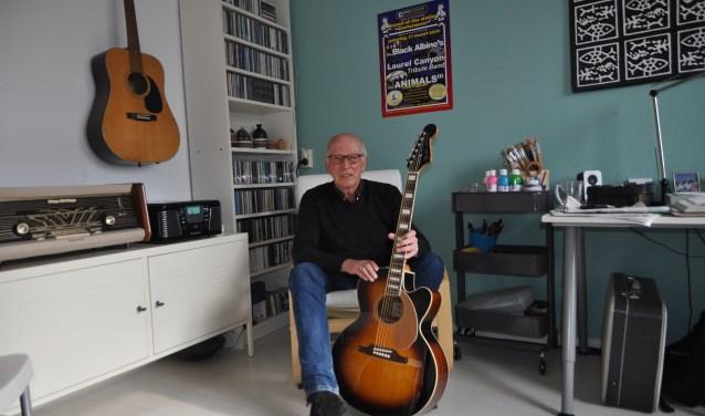 Ruud van Wijngaarden, zelf ooit gitarist in diverse bands, stopt nog steeds veel energie in de organisatie van het evenement.