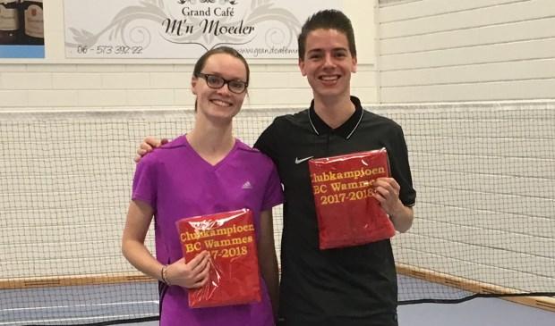 Daniëlle Lagerwaard en Robin van Gameren gingen met de titel aan de haal. Eigen foto