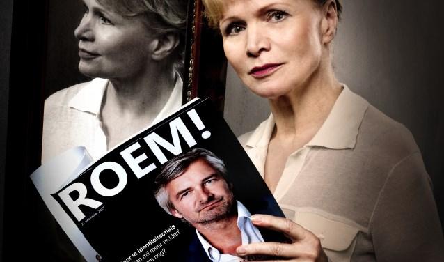 Nadat hij uit zijn politieserie is geschreven, belandt BN'er Jos (Victor Reinier) op de bank bij de psychiater (Renée Soutendijk). FOTO: PIEK