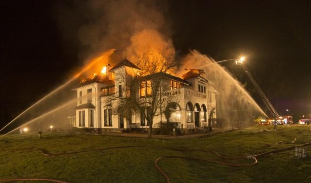 De brand Reehorst februari 2015