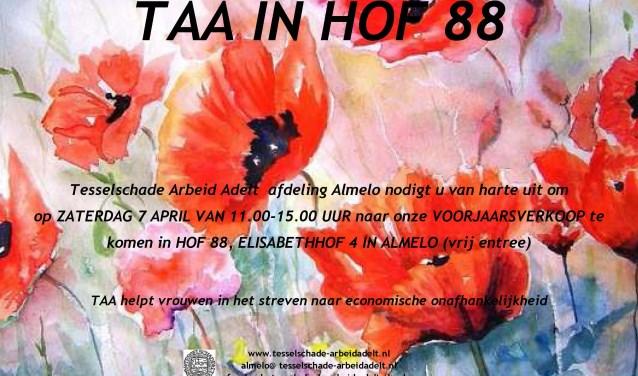 Kom op zaterdag 7 april naar Hof 88 voor een leuke aankoop