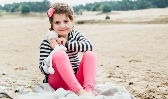 """Jeroen en Ingrid van Til hopen dat Putten zich jaarlijks een dag wil inzetten voor Kika. """"We onderzoeken nog of een dergelijk initiatief tot de mogelijkheden behoort. Want kinderen en kanker horen niet samen."""" Foto: Everdien Molenaar van Geliefd Fotografie en Design"""
