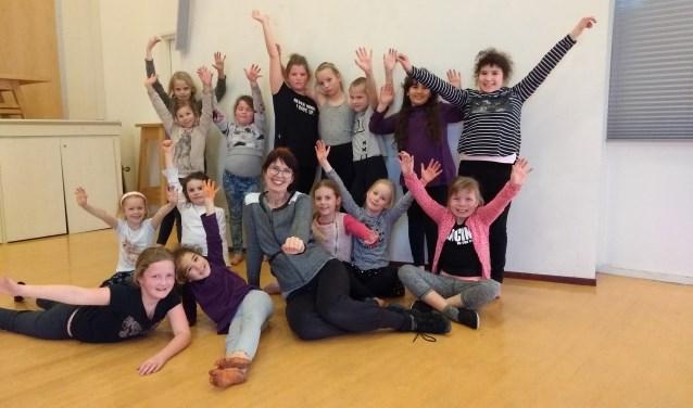 Jacqueline Hutten heeft haar eigen dansschool in Ons Huis aan de Harnjesweg.