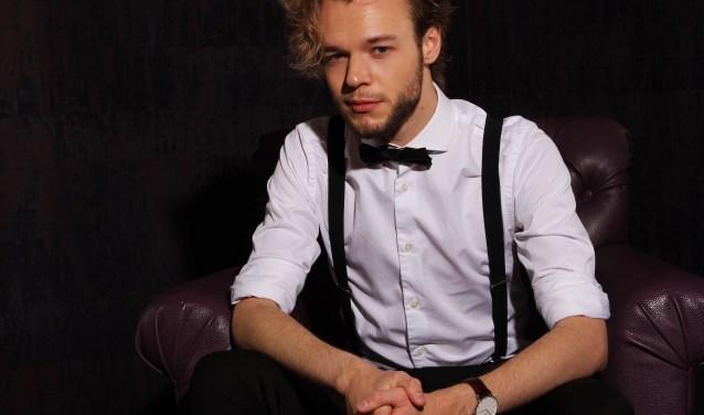 Jazzmuzikant Guimar (21) uit Vlissingen. FOTO: Marcel Koch