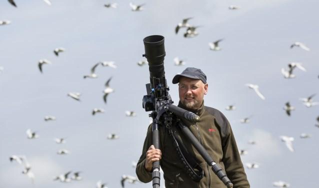 Ruben Smit van de Nieuwe Wildernis laat zien hoe je mooie natuurfoto's maakt.