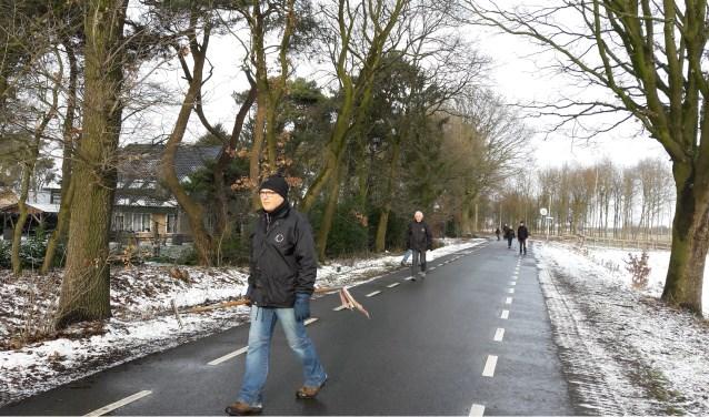 De laatste competitiewedstrijd vindt plaats in het buitengebied van Wierden.