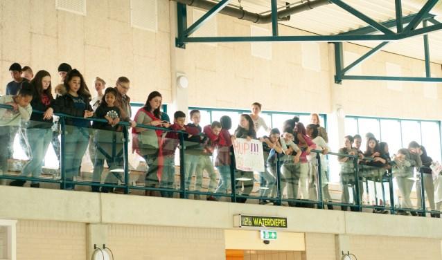 De aanmoedigers van basisschool De Wisselaar