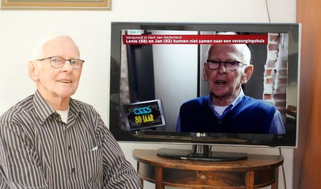 Cees van de Noort in het SBS programma Wereld van 80-jarigen.