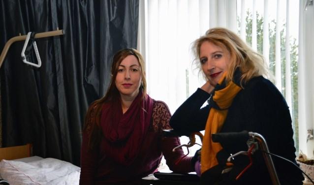 Twee vrouwen met een missie: Lisa de Vries en Hélène van Tol van stichting Ziekenhuis Chronische Lyme