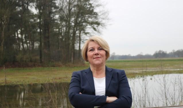 Janine Langenhof wil zich de komende vier jaar inzetten voor een optimale economische ontwikkeling van Wierden.