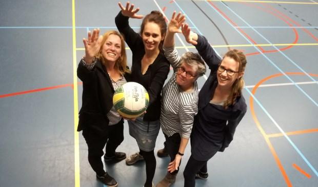 Het 60-jarige Metameer nodigt collegascholen uit voor een volleybaltoernooi. Foto: Joyce Linders (Metameer)